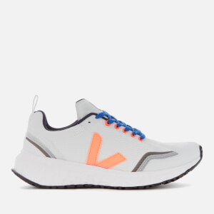 Veja Women's The Condor Running Shoes - White/Orange