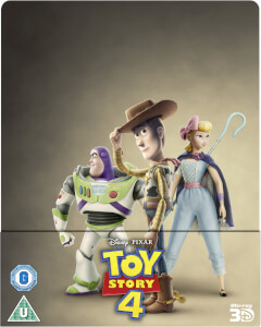 Toy Story 4 3D (Includes 2D Blu-Ray) - Zavvi Exclusive Steelbook