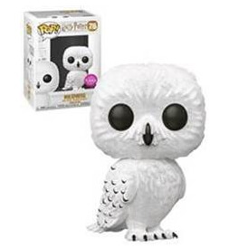 Harry Potter - Hedwig Flocked EXC Pop! Vinyl Figur
