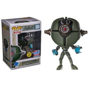 Figura Funko Pop! - Assaultron GITD - Fallout