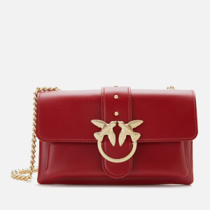 Pinko Women's Mini Love Soft Bag - Cylcist Red