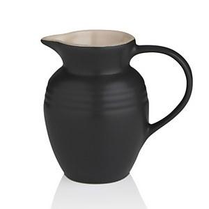 Le Creuset Stoneware Breakfast Jug - Satin Black