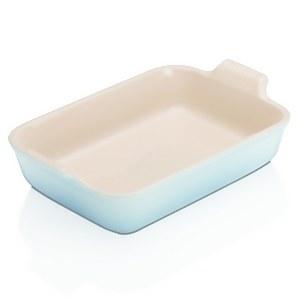 Le Creuset Stoneware Large Heritage Rectangular Roasting Dish - 32cm - Coastal Blue