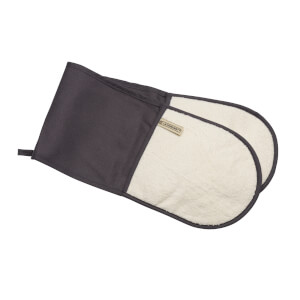 Le Creuset Textiles Double Oven Gloves - Flint