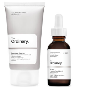 The Ordinary Buffet with Copper and Squalane Cleanser