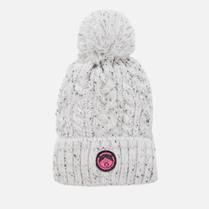 Superdry Women's Gracie Cable Beanie - Ice Grey
