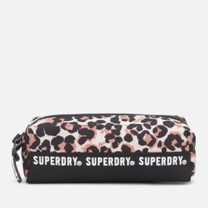 Superdry Women's Leopard Montana Pencil Case - Brown