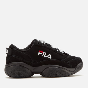 FILA Women's Provenance Trainers - Black/Black/White
