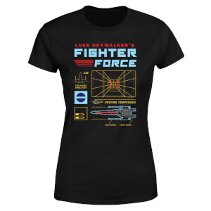 Star Wars Fighter Force Women's T-Shirt - Black