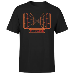 Star Wars Targeting Computer Men's T-Shirt - Black