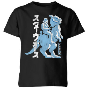Star Wars Kana Hoth kinder t-shirt - Zwart