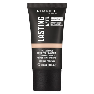Rimmel London Lasting Matte Foundation 30ml (Various Shades)