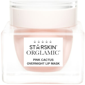 STARSKIN Orglamic Pink Cactus Foaming Lip Mask Nourish and Plump 0.51 fl. oz