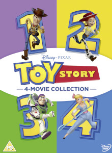 Toy Story 1-4 Complete Boxset