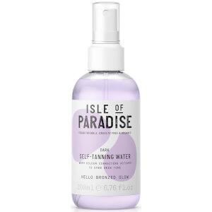 Isle of Paradise Self-Tanning Water - Dark 200ml