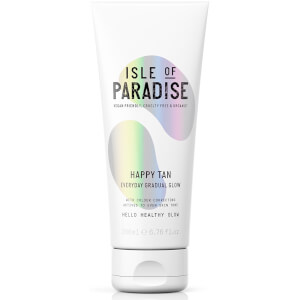 Isle of Paradise Happy Tan Everyday Gradual Glow Lotion 200ml