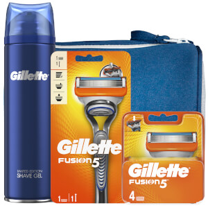 Gillette Fusion5 Shaving Kit with Wash Bag