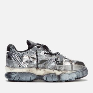 Maison Margiela Men's Fusion Low Top Trainers - White/Black/Silver