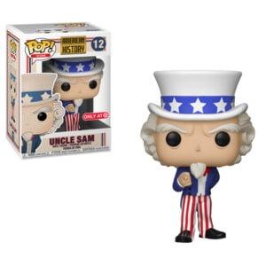 Figura Funko Pop! - Uncle Sam EXC - Pop! Icons Historia Estadounidense (Exclusiva VIP)