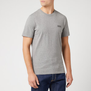 Barbour International Men's Small Logo T-Shirt - Anthracite