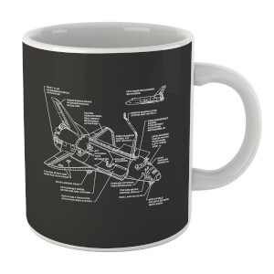 Shuttle Schematic Mug