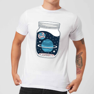 Space Jar Men's T-Shirt - White