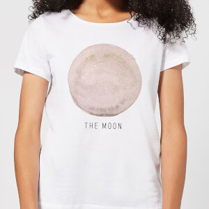 The Moon Women's T-Shirt - White