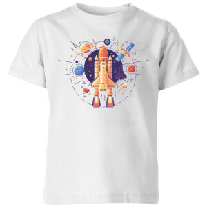 Blast Off Kids' T-Shirt - White