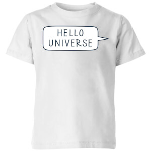 Hello Universe Kids' T-Shirt - White