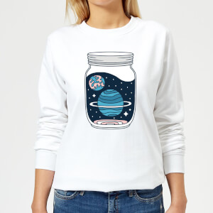 Space Jar Women's Sweatshirt - White