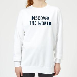 Discover The World Women's Sweatshirt - White