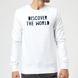 Discover The World Sweatshirt - White
