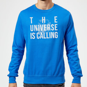 The Universe Is Calling Schematic Sweatshirt - Royal Blue
