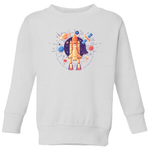 Blast Off Kids' Sweatshirt - White