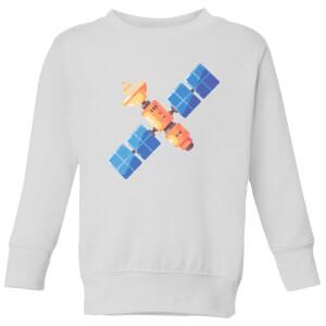Satellite Kids' Sweatshirt - White