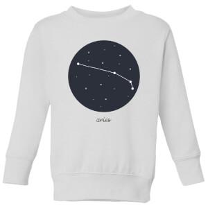 Aries Kids' Sweatshirt - White