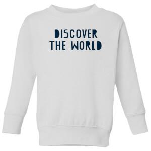 Discover The World Kids' Sweatshirt - White