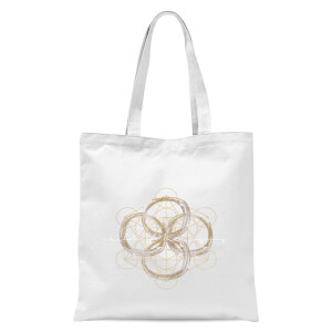Child Of The Cosmos Tote Bag - White