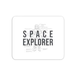 Space Explorer Schematic Mouse Mat