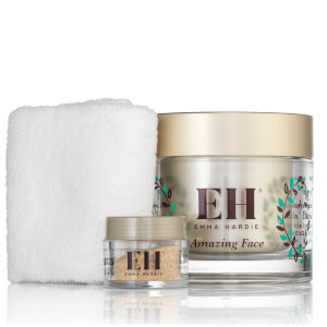 Emma Hardie Moringa Cleansing Balm with Cloth and Rosehip Exfoliating Seeds 10th Anniversary Edition (Worth £104.00)