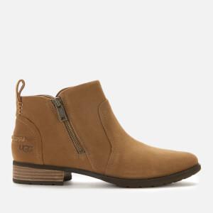 UGG Women's Aureo II Suede Waterproof Ankle Boots - Chestnut