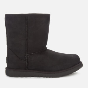 UGG Kids' Classic Short II Waterproof Boots - Black