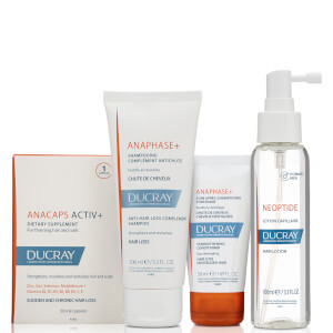 Ducray Chronic Thinning Hair Regimen for Men (Worth $150)