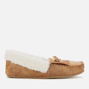 Superdry Women's Premium Moccasin Slippers - Tan
