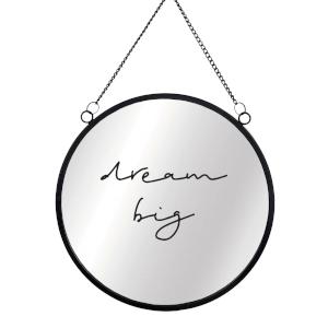 Dream Big Round Mirror & Vinyl Sticker