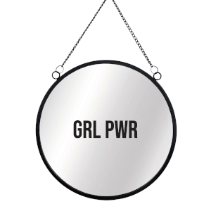 GRL PWR Circular Mirror