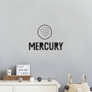 Mercury Wall Decal