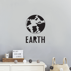Earth Wall Decal