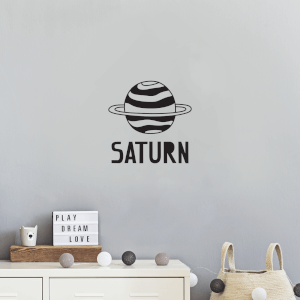 Saturn Wall Decal