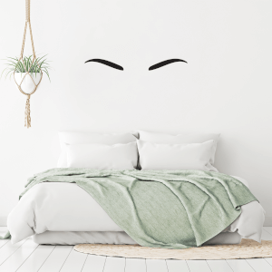 Eyebrows Wall Art Vinyl